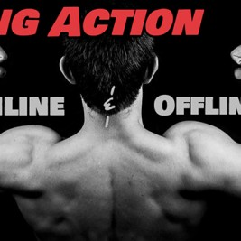 Taking Action Online & Offline - P90X Schedule